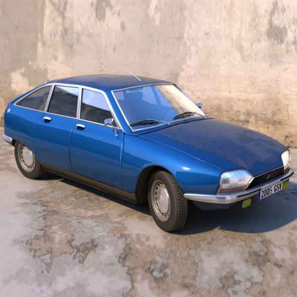 Citroen GS, GSA