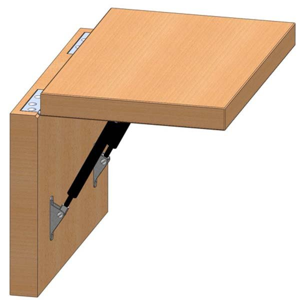 Hinged Counter Tops : Counter flap hinges top brackets free design