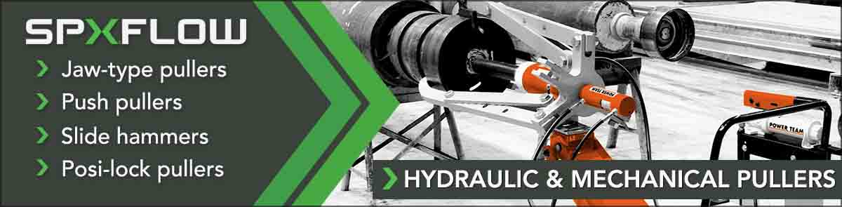 Bearing Puller | Hydraulic Wheel Bearing Removal | Push Pullers | SGS