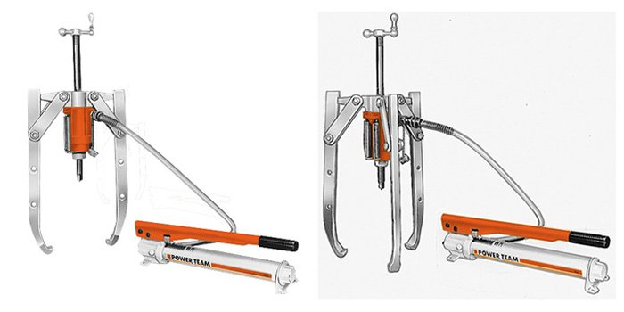 Hydraulic puller product images