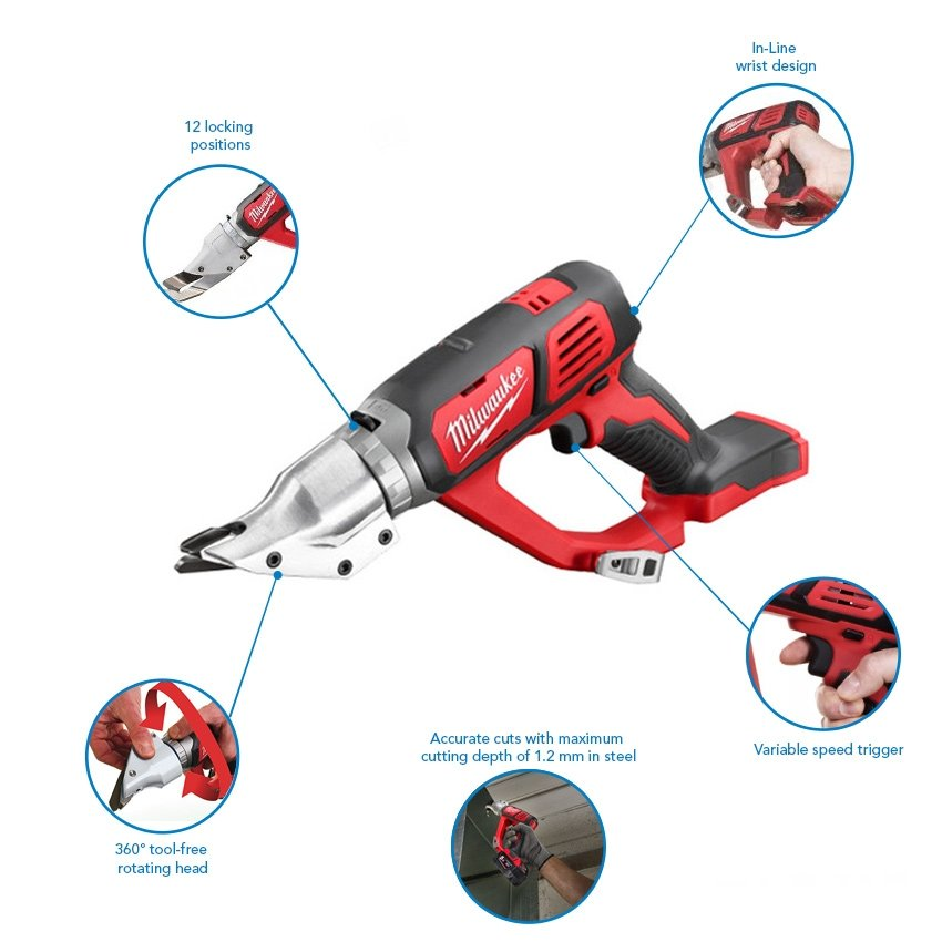 Milwaukee M18BMS12-0 18v Compact Metal Shears (Body only)