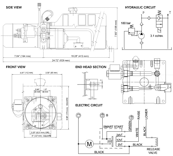 wiring dc solenoid valves schematic 12v    dc       solenoid    operated hydraulic power unit power up  12v    dc       solenoid    operated hydraulic power unit power up