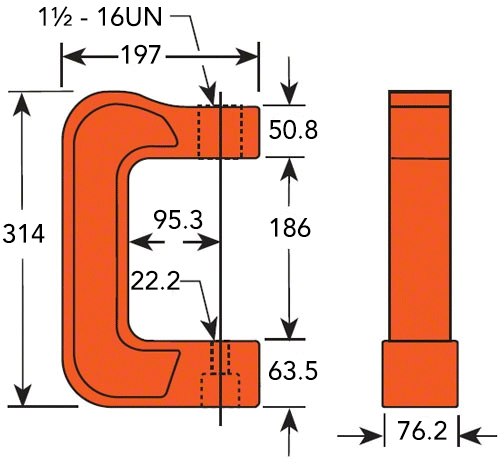 how to use c clamp
