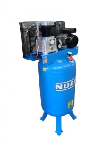 150 Litre Nuair Belt Drive Vertical Air Compressor - 14 CFM, 3 HP
