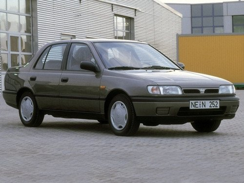 Nissan Sunny 1990-1995 N14 With Spoiler Tailgate / Boot Gas Strut