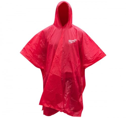 Milwaukee 4939435192 Red Rain Poncho