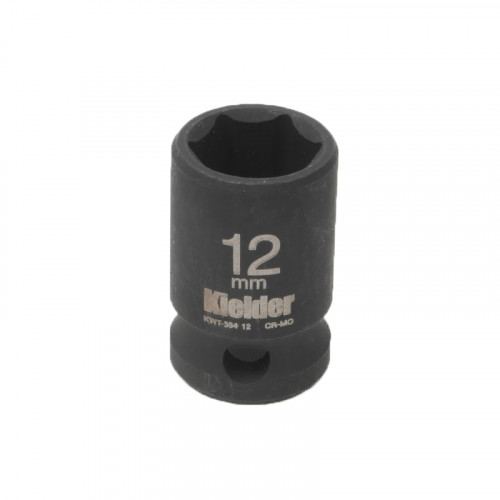 "Kielder KWT-384-12 3/8"" Short Impact Single Socket 12mm"