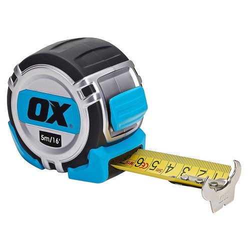 OX Tools OX-P028705 Pro Metric/Imperial 5m Tape Measure