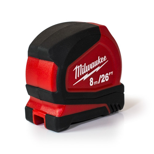 Milwaukee Pro Compact 8m/26ft Tape Measure | 4932459596