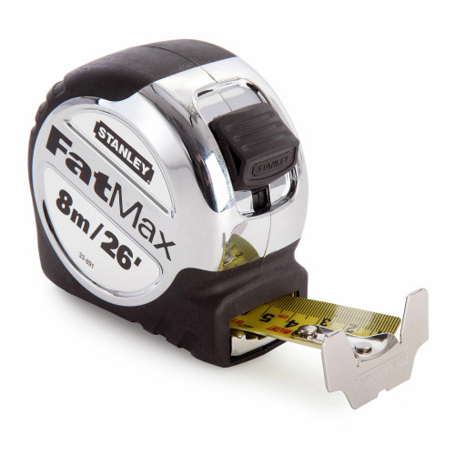 Stanley 5-33-891 Metric/Imperial FatMax Tape Measure with 32mm Blade 8m / 26ft