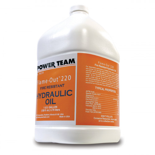 3.8 Litre Flame Out Power Team Hydraulic Oil - 9639