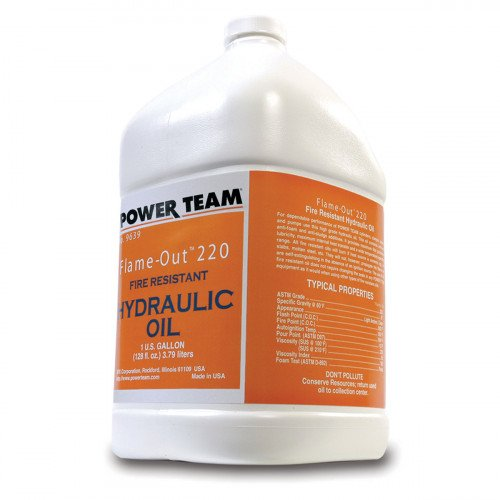 9.5 Litre Flame Out Power Team Hydraulic Oil - 9640