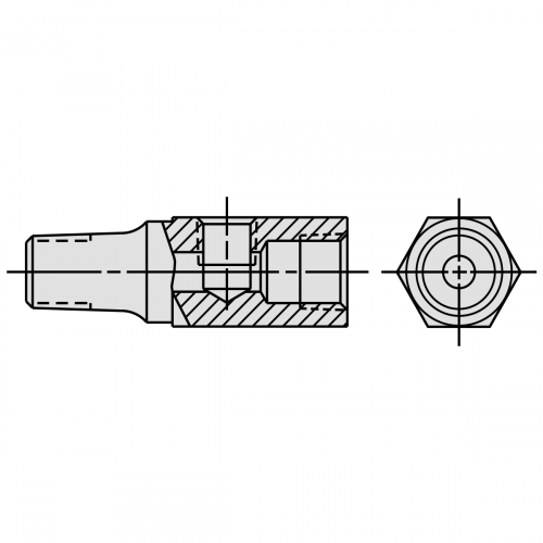 Tee Adapter Fitting - 9670
