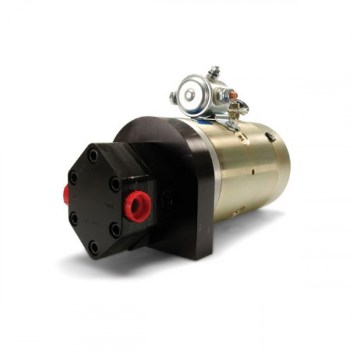 12V DC Auxiliary Hydraulic Power Unit with Relief Valve and Check Valve
