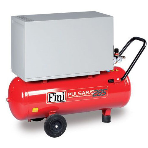 50L Fini Professional Pulsar Silenced Air Compressor - 9.2 CFM, 2.5 HP