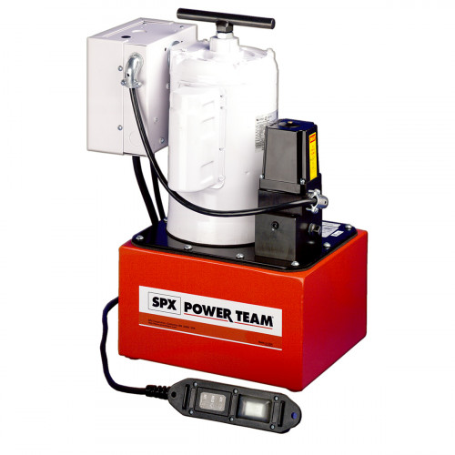 PE462S Two-Speed Electric Hydraulic Pump - 0.6L/Min, Single-Acting - 220V