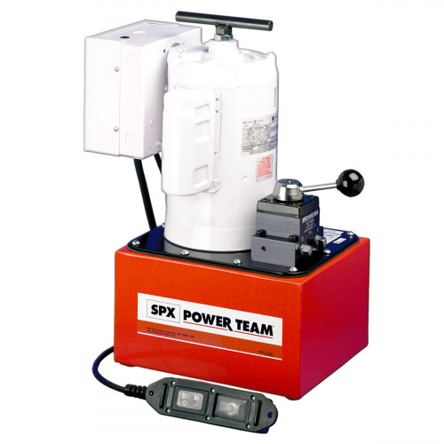 PE464 Two-Speed Electric Hydraulic Pump - 0.6L/Min, Double-Acting/multi-single-acting 110V