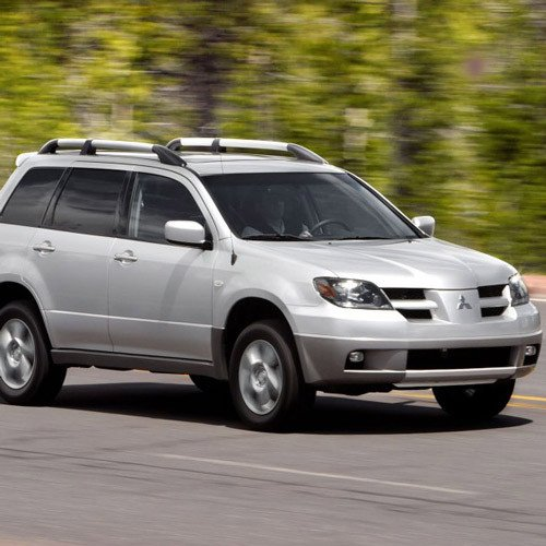 Mitsubishi Outlander 2006 On Tailgate / Boot Gas Strut