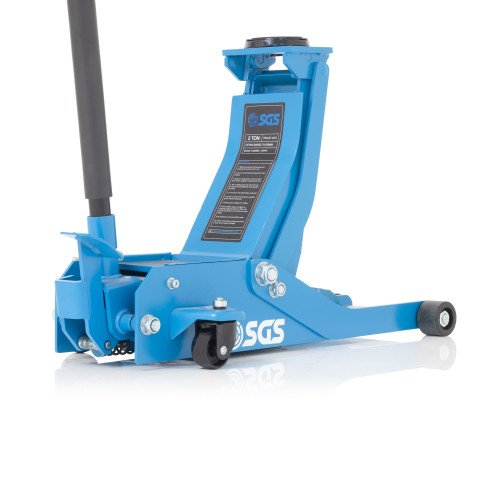 SGS 2 Ton Ultra Low Profile Professional Service Trolley Jack