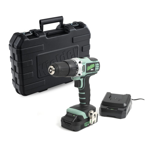 Kielder KWT-001-05 18V Generation 2 Brushless Drill/Driver with 2Ah Battery, Charger & Case