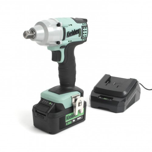"Kielder KWT-002-03 18V 1/2"" 430Nm Professional Heavy-Duty Brushless Impact Wrench with 4.0Ah Battery & Charger"