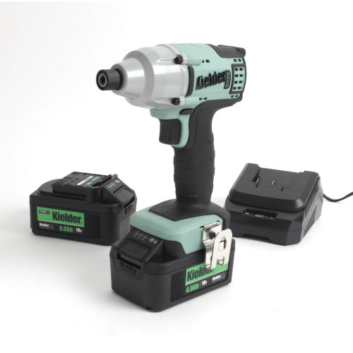 Kielder KWT-005-09 18V Generation 2 Impact Driver, 2X 4.0Ah Batteries, Charger and Case
