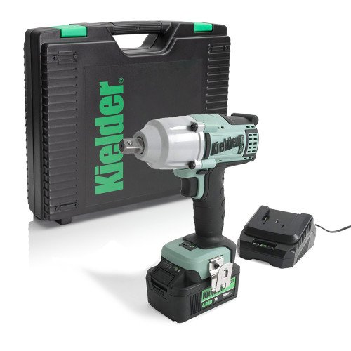 "Kielder KWT-012-05 18V 1/2"" 700Nm Impact Wrench, Battery, Charger and Case"