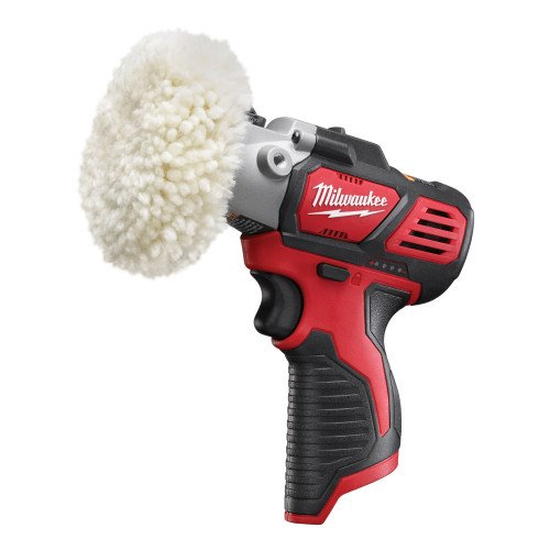 Milwaukee M12BPS-0 12V Cordless Polisher/Sander - Two Speed, Compact Design, Polishing/Sanding Accessories Included (Body Only)