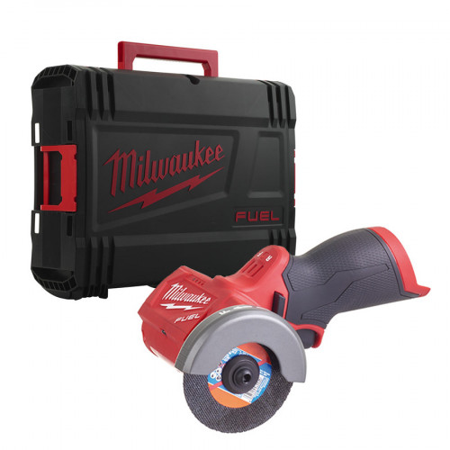 Milwaukee M12FCOT-X M12 12V Cordless Multi-material Cut Off Tool - Sub-Compact Range, 76 mm Blade Support, Tool Only in Case