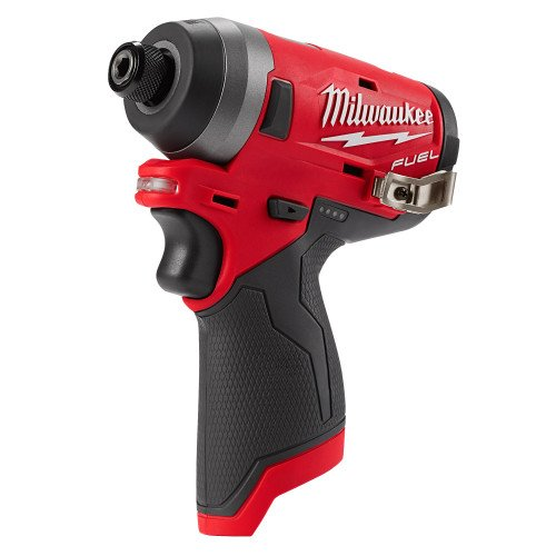 Milwaukee M12FID-0 M12 12V Cordless Impact Driver - FUEL Brushless Motor, 1/4 Inch Hex Reception, 147 Nm Torque (Body Only)