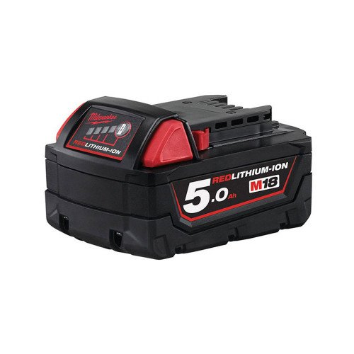 Milwaukee M18B5 18V 5Ah Red Lithium-Ion Genuine Battery