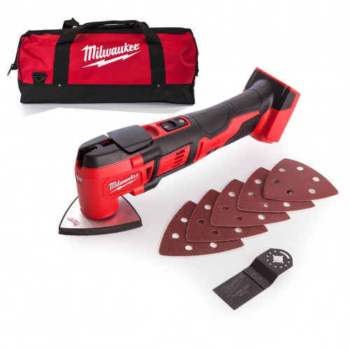 Milwaukee M18BMT-B 18V Compact Multi-Tool with carry bag