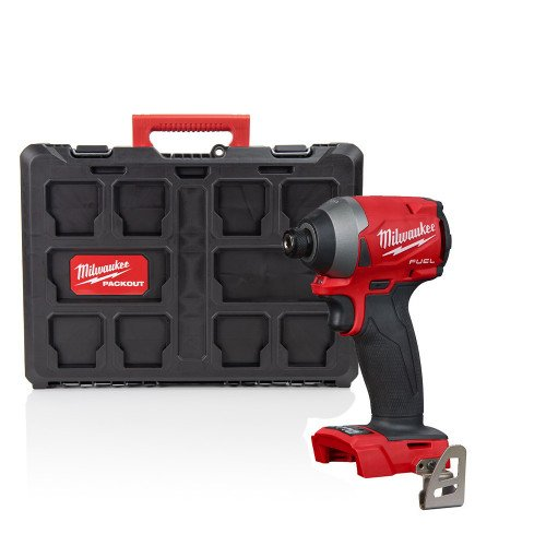Milwaukee M18FID2-P 18V GEN3 Fuel Impact Driver With PACKOUT™ Case (Body Only)