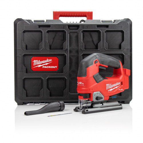 Milwaukee M18FJS-P FUEL™ D-Handle Jigsaw and Packout Case Kit (Body only)