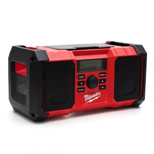 Milwaukee M18JSR-0 Jobsite AM/FM Radio (Body Only)