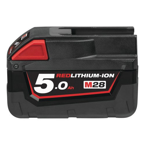 Milwaukee M28B5 28V 5Ah Red Lithium-Ion Battery
