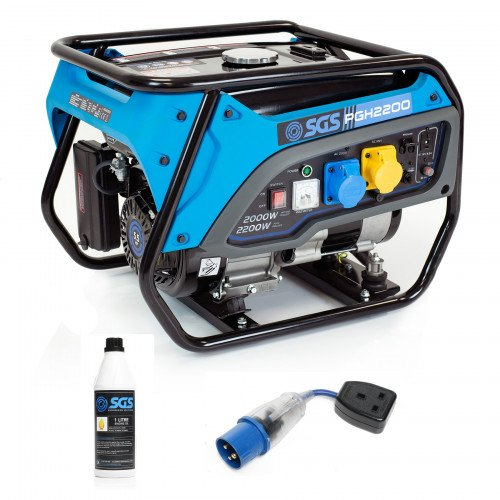 SGS 2.8 kVA Heavy Duty Portable Petrol Generator With Oil & Flylead