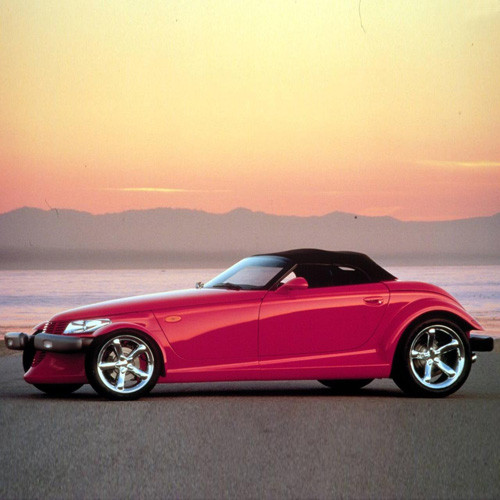 Plymouth Prowler 2000 Coupe Bonnet Gas Strut