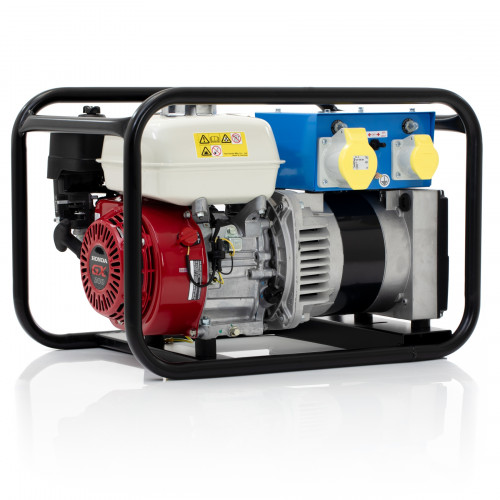 SGS 3.4 kVA Honda Engine Industrial Petrol Generator - UK Made