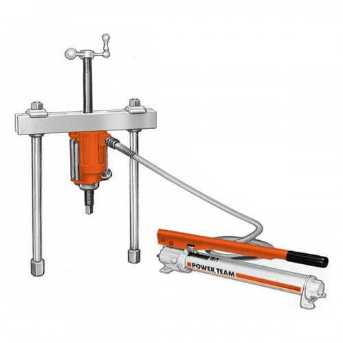50 Ton Hydraulic Push-Puller Set - Puller, Cylinder, Pump & Accessories