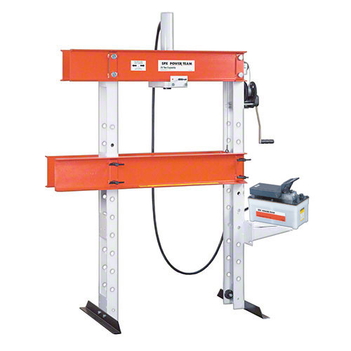 25 Ton Open Throat Hydraulic Press with Electric Pump