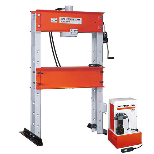55 Ton Hydraulic Press / Electric Pump - Double Acting