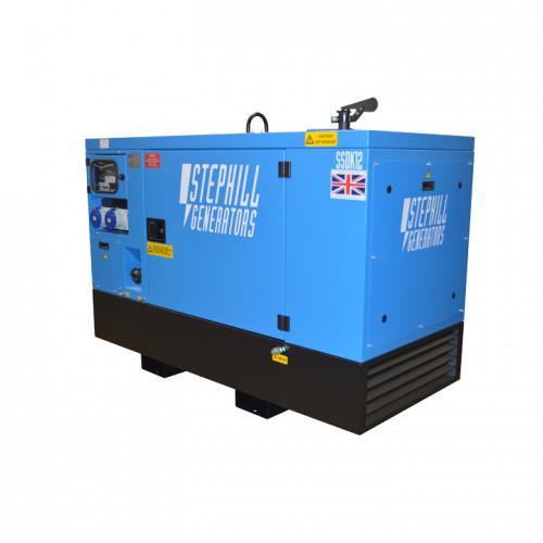 Stephill SSDK12W 12.0 kVA Kubota Water Cooled Super Silent Welfare Diesel Generator - 1500 RPM