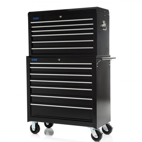"SGS 36"" Professional 13 Drawer Tool Chest & Roller Cabinet"
