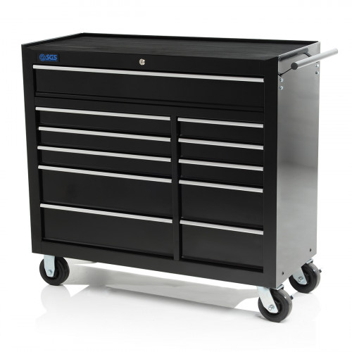 "SGS 42"" Professional 11 Drawer Roller Tool Cabinet"