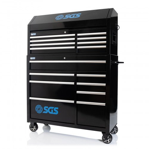 """SGS 46"""" Professional Tool Chest & Cabinet With Power Sockets"""