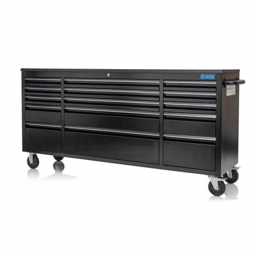 """SGS 72"""" Deluxe 15 Drawer Tool Rolling Cabinet"""