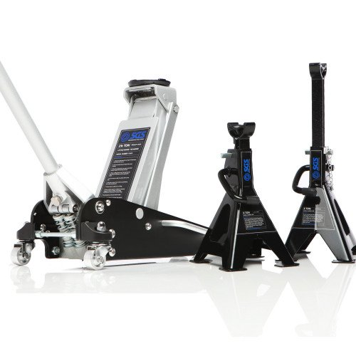 SGS 2.5 Ton Aluminium Racing Trolley Jack & Axle Stands