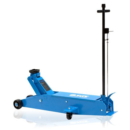 SGS 10 Ton Long Reach Professional Service Trolley Jack For Lorry, Bus, Coach, Van