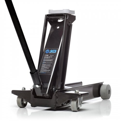 2 Ton Long Reach Professional Service Trolley Jack For Garage Use